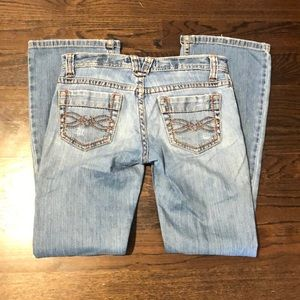 Aeropostale boot cut light wash jeans